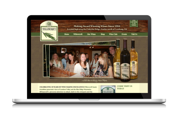 Willowcroft Winery Website